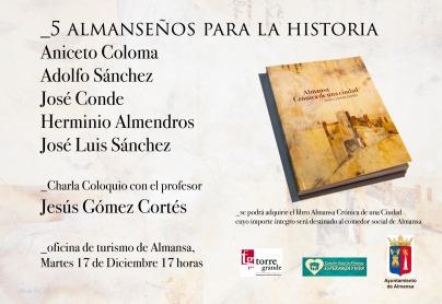 charla Almanseños Jesus Gomez
